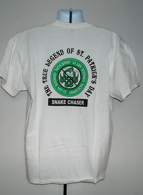 New Mens Jameson Irish Whiskey Snake Chaser T Shirt Xl Legend Of St Patricks Day