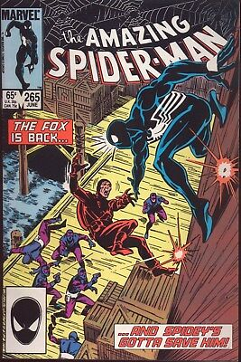 The Amazing Spider-Man # 265 VERY FINE 1ST APPEARANCE SILVER SABLE