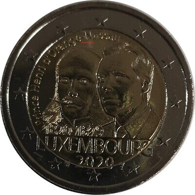 #Rm# 2 Euro Commemorative Luxembourg 2020 - Prince Henry
