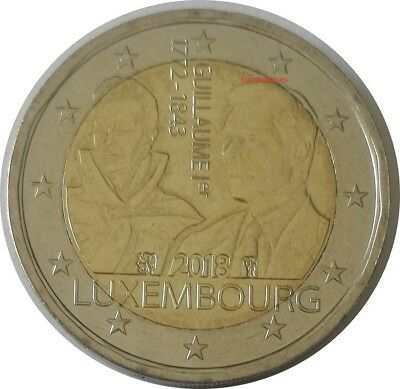 #rm# 2 Euro Commemorative Luxembourg 2018 - Guillaume I