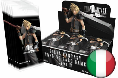 Final Fantasy Trading Card Game Opus IV 4 - 36 Boosters Box Italiano