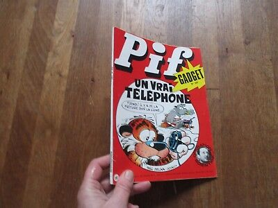 JOURNAL BD  PIF GADGET 159  vaillant 1972