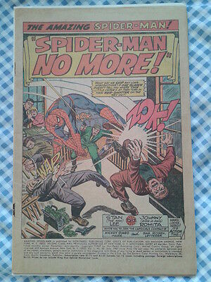 Amazing Spider-Man 50 (1967) 1st App of Kingpin, affordable
