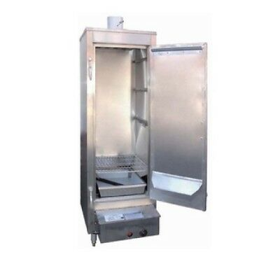 """Chinese Smoker Oven Stainless Steel Interior 3 Burners 78"""" - NSF Approved"""