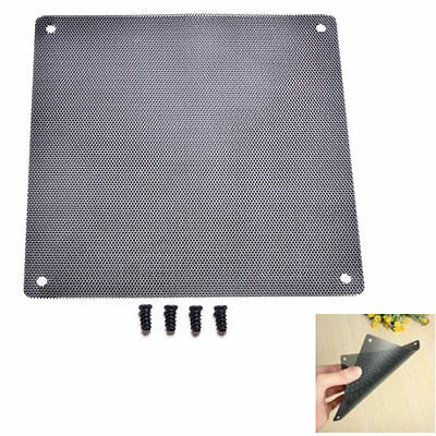 120mm Computer PC Dustproof Cooler Fan Case Cover Dust Filter with 4 screws*