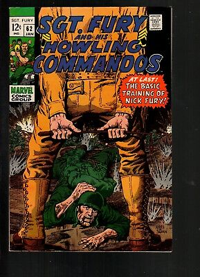Sgt. Fury #62 FN/VF 7.0 Marvel 1969 Howling Commandoes!!!