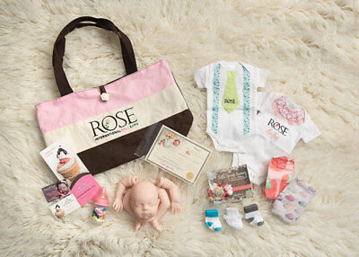 2017 ROSE Vendor Bag w/ Limited Edition Kit and Goodies ~ REBORN DOLL SuPPLIES