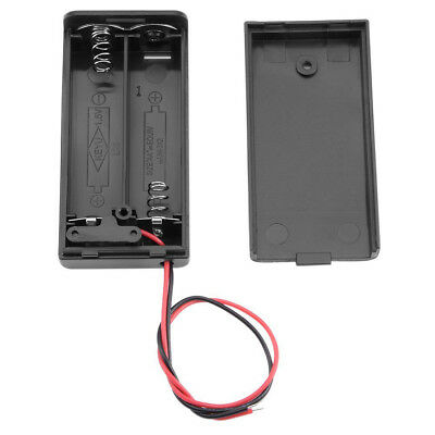 AA 3V Battery Holder Connector Storage Case ON/OFF Switch With Lead Wire 2 in 1~