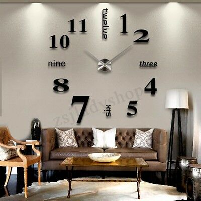 Wall Clock Quartz Large Movement Hands Mechanism Repair Parts Tool Kit DIY Decor