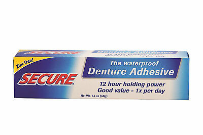 SECURE Denture Bonding Cream Adhesive 40g