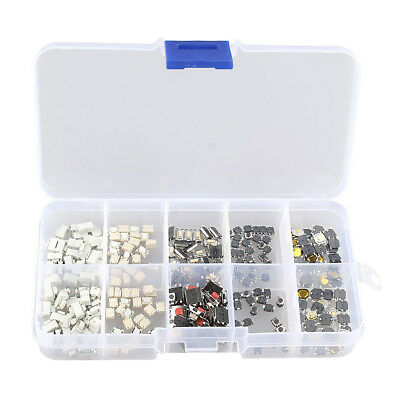 10 models 200 pcs Tactile Push Button Switch Micro Switch Car Remote Control