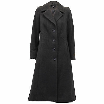 Ladies Wool Cashmere Coat Womens Jacket Long Fashion Warm Casual Winter New