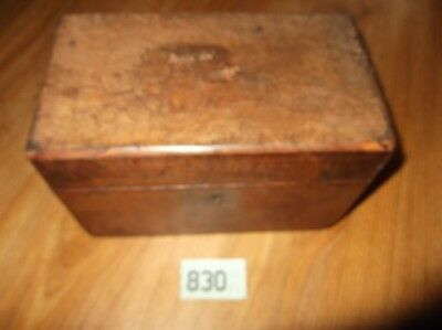 Antique wooden box for restoration