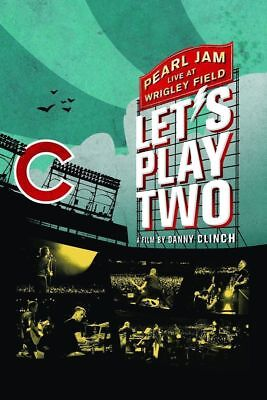 PEARL JAM 'LET'S PLAY TWO' DVD + CD + 32 Page Booklet (2017)