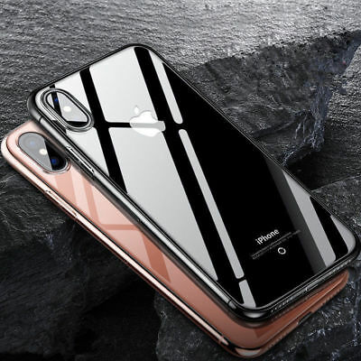Ultra Thin Transparent Clear Soft TPU Silicone Back Case Cover For iPhone X 2017