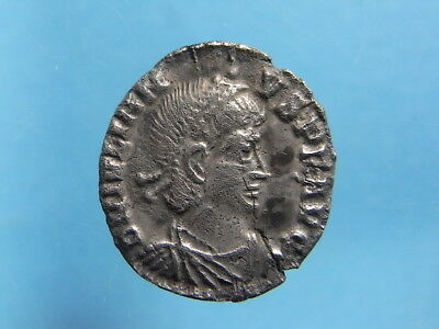 Imperial Roman AR Siliqua of Julian II. R: Oak Wreath. Arles 355-363 AD. (C1177)