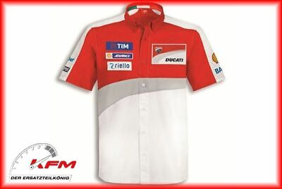 Ducati Performance Wear Hemd shirt GP Team Replica 16 Größe XL Neu*