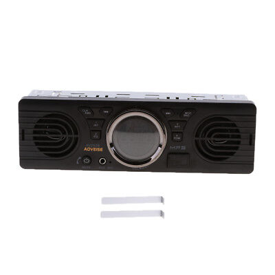 12V FM Handsfree Car Stereo Radio 1 DIN SD/USB AUX Bluetooth Head Unit