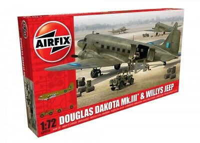 AIRFIX® A09008 Douglas Dakota MK.III™ & Willys Jeep in 1:72