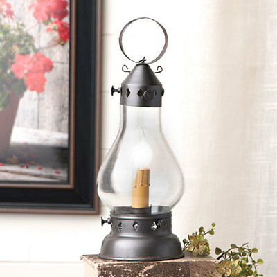 Country new small black Hurricane lantern light / nice