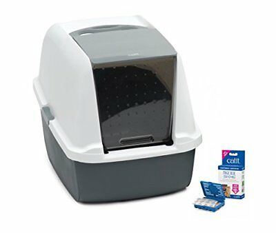 Catit Magic Blue Cat Litter box- Regular and Jumbo sizes