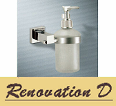 Normany Soap Dispenser, Solid Brass & Chrome