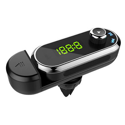 Bluetooth Wireless FM Transmitter USB Charger MMC MP3 Player fr Car Audio Stereo