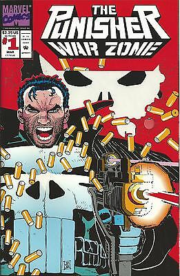 Punisher: War Zone #1 (Marvel) 1992 Series (Die-Cut Cover)