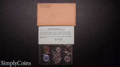 1958 Proof Set ~ Original Envelope With COA ~ US Mint Silver Coin Lot SKU-854