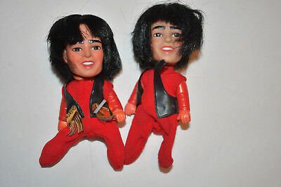 Lot of 2 Remco Monkees small dolls