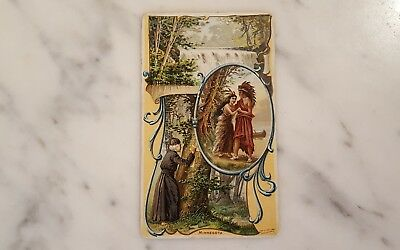 Victorian Trading Card Arbuckle Bros State Facts Minnesota