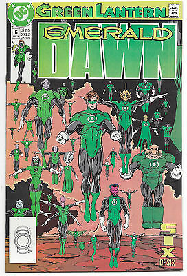 Green Lantern: Emerald Dawn #6 (NM) 1990