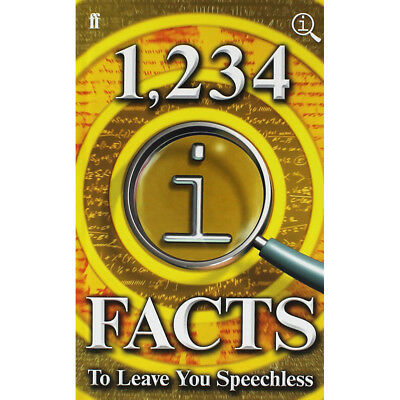 1234 Qi Facts to Leave You Speechless (Hardback), Non Fiction Books, Brand New
