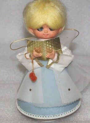 VINTAGE  ANGEL  Doll musical doll 60's vintage doll 12 days of Christmas Angel