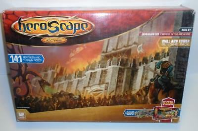 Heroscape Expansion Set Fortress of the Archkyrie Wall and Tower Building Pack