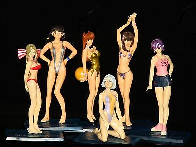 Bandai DOA Dead or Alive figure Vol.2  Beach VolleyBall gashapon (set of 6 Pcs)