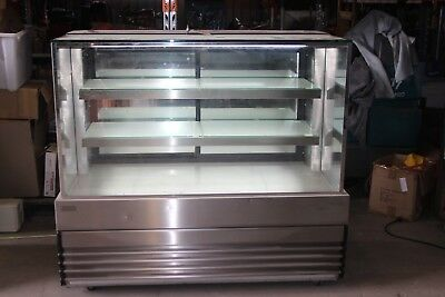 Koldtech NRSQCD-15 Ambient Square Glass Display Cabinet 1500mm NRS QCD-15