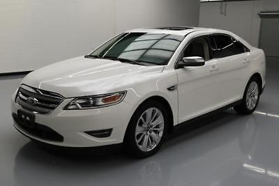 2012 Ford Taurus Limited Sedan 4-Door 2012 FORD TAURUS LIMITED SUNROOF CLIMATE LEATHER 42K MI #127420 Texas Direct