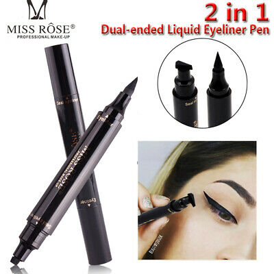 Winged Eyeliner Stamp Waterproof Makeup Cosmetic Eyes Liner Pencil Liquid Fw