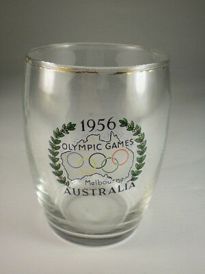Melbourne Olympics 1956 Small Glass