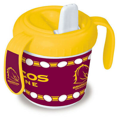 Brisbane Broncos NRL Toddler Training Sippy Sipper Cup