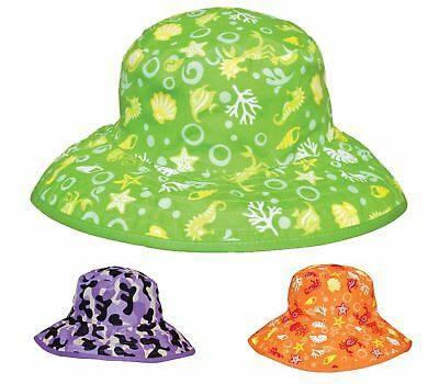 Baby Banz REVERSIBLE SUN HAT Baby/Infant/Kids Summer Head Sun Protection BN