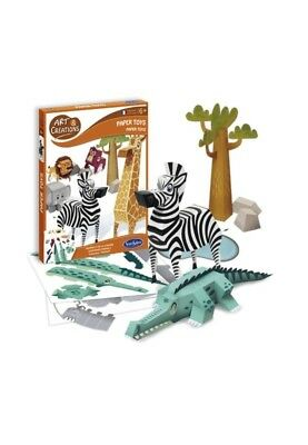 papertoys : animaux de la savane
