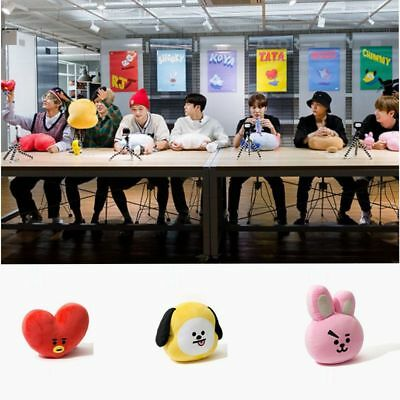 Kpop BTS BT21 Plush Cooky Tata Shooky Chinny Van Pillow Doll Plush Kim Hyung V