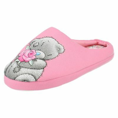 Novelty Tatty Teddy Slippers Me To You Soft Cosy Padded Womens Slip Ons  UK 4-8