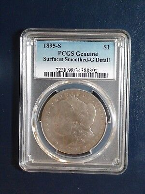 1895 S Morgan Silver Dollar PCGS Good Detail $1 Coin PRICED TO SELL NOW!