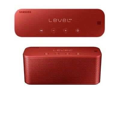 OEM Samsung Level Box Mini Bluetooth NFC Portable Wireless Music Speaker (RED)