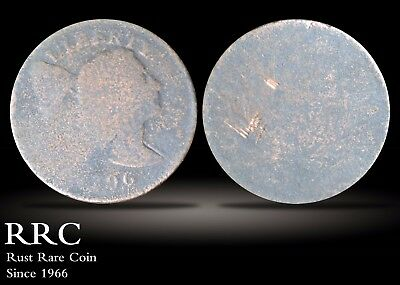 1796 Flowing Hair Cent Fair-Poor, S.91