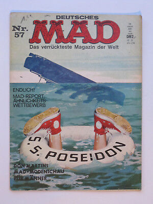 MAD (bsv/Williams, 1967-)   Band 57 bis Band 120  Zustand 1 / 1-2 / 2