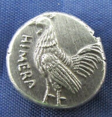 ANCIENT GREEK Sicily  HIMERA  Silver Stater c. 480-470 BC. (435+)